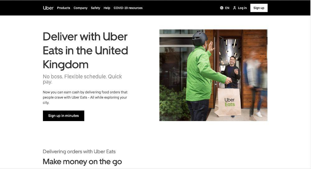 Uber Eats Jobs