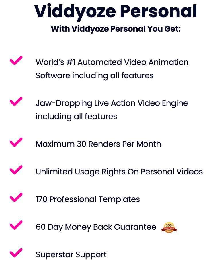 Viddyoze Personal License
