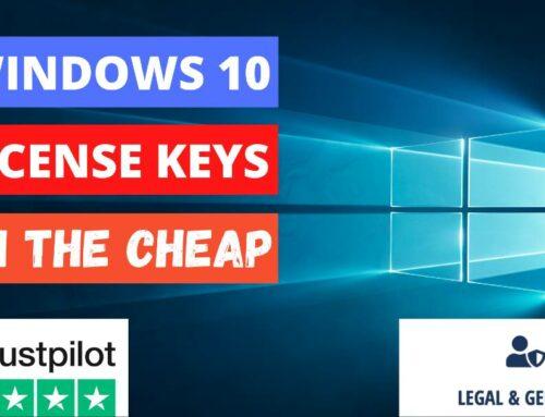 Windows 10 License Key – Super Cheap And Legitimate