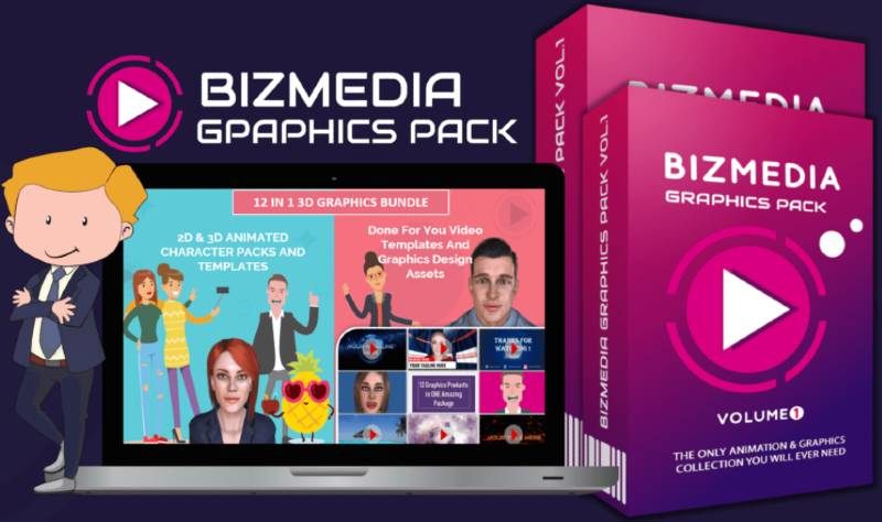 Bizmedia Graphics Pack